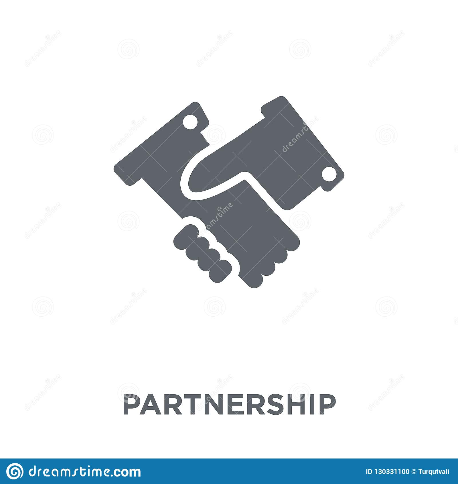 Partnership icon from collection.
