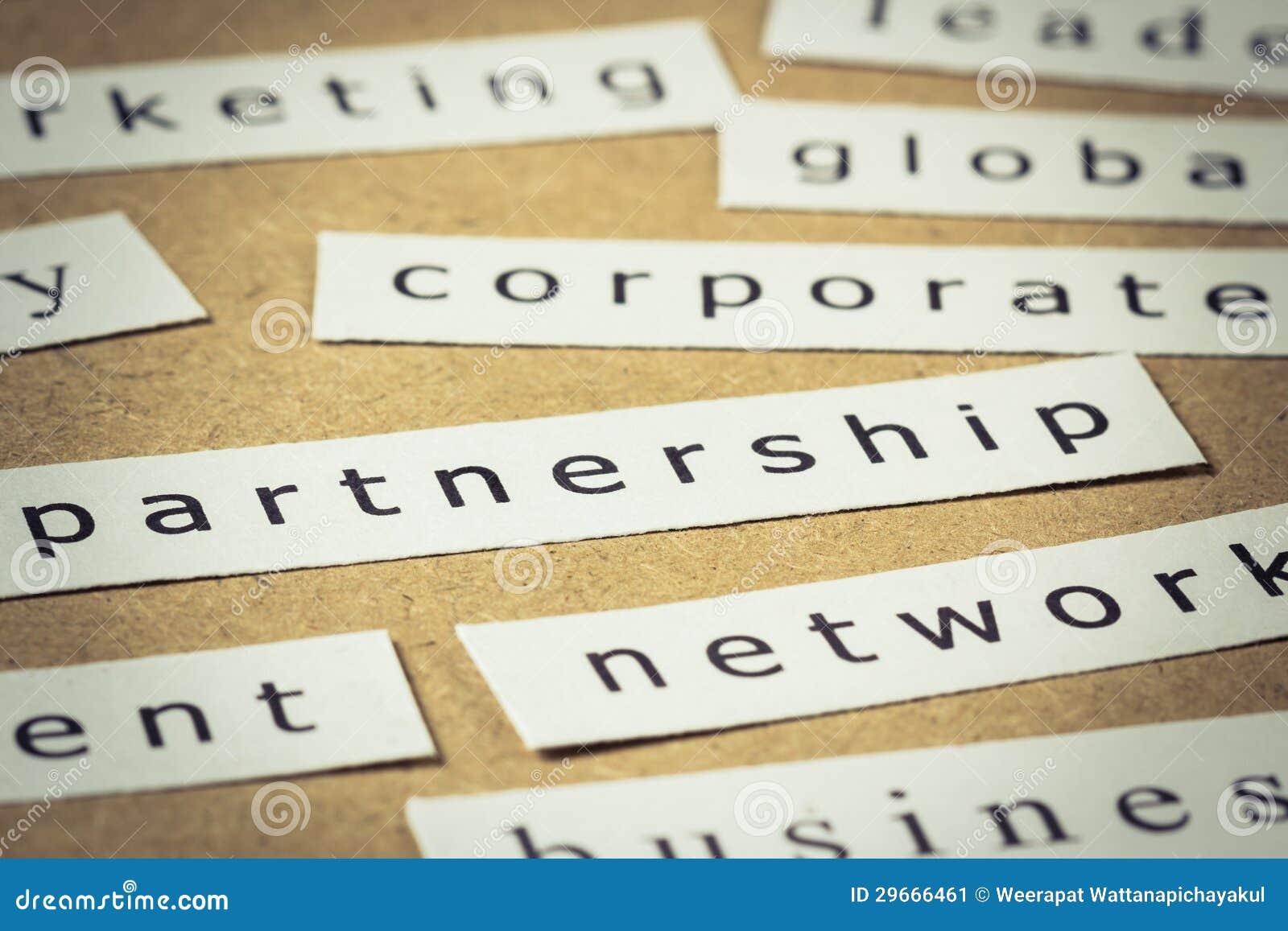 Partnership paper