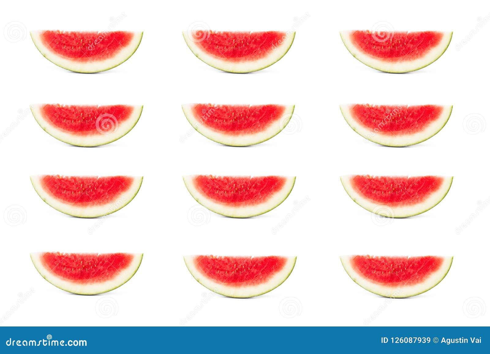 Parts de pastèque
