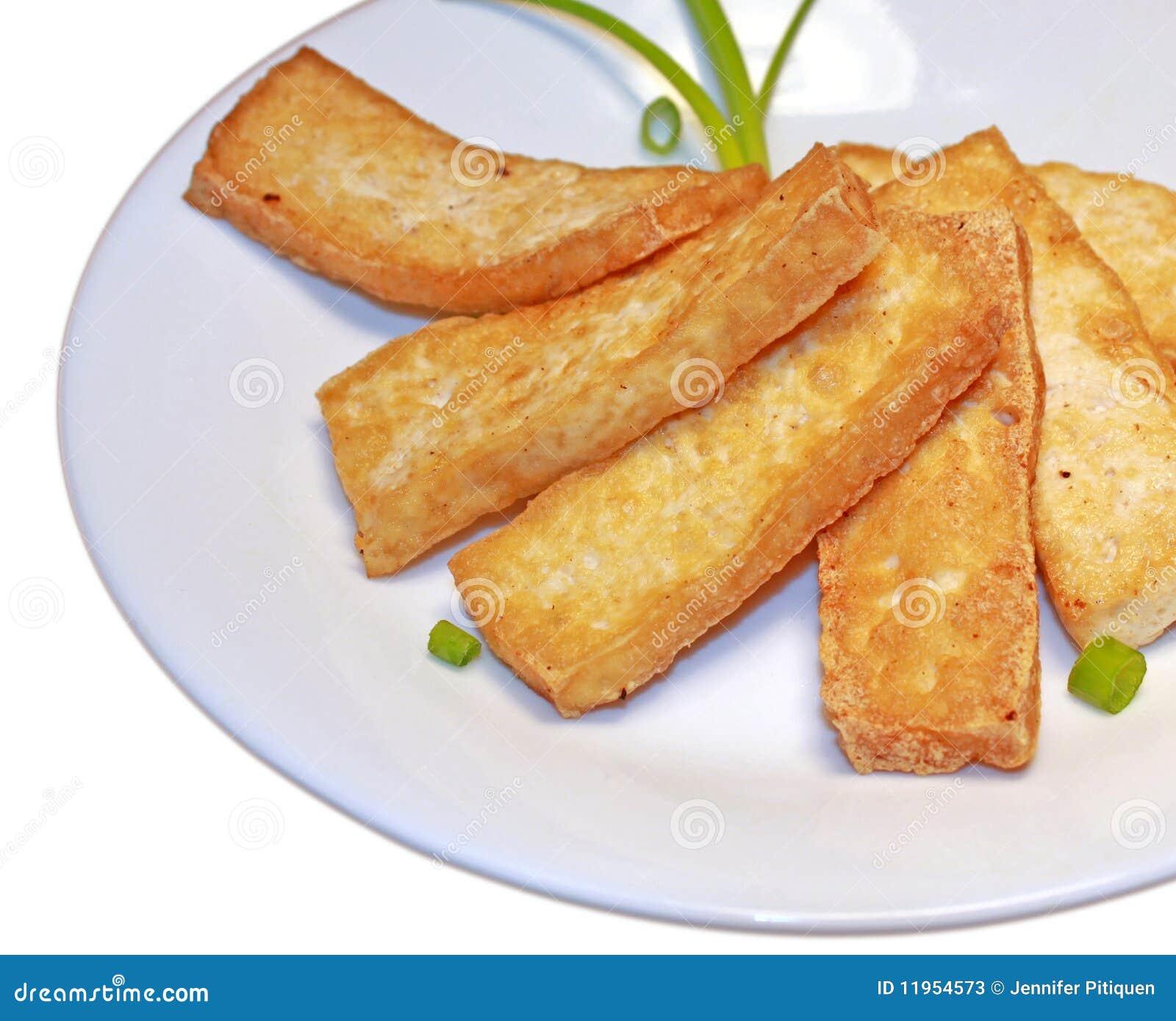 Parts de tofu