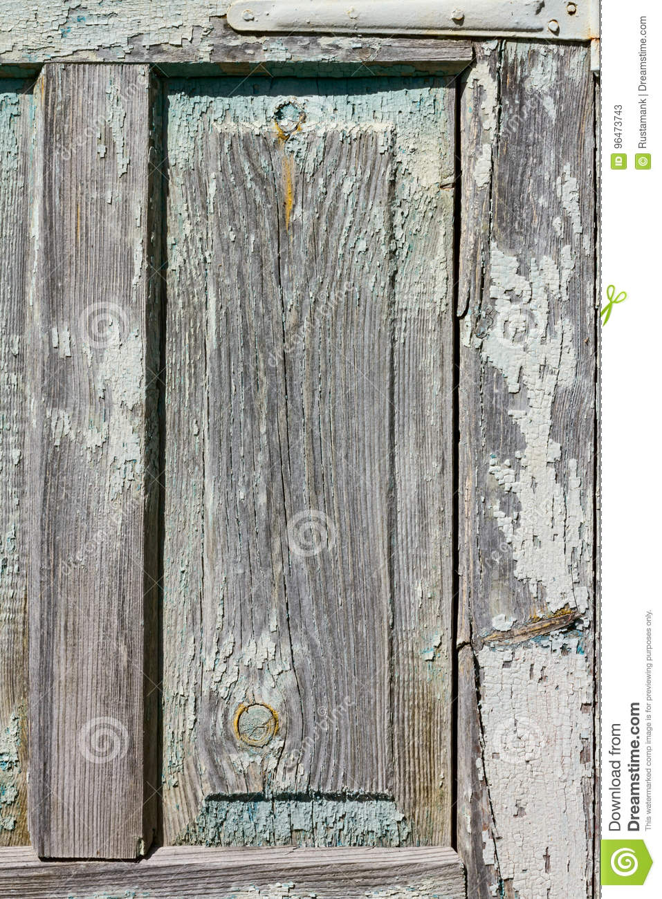 Parts and elements of the old antique wooden rustic doors - Parts And Elements Of The Old Antique Wooden Rustic Doors Stock