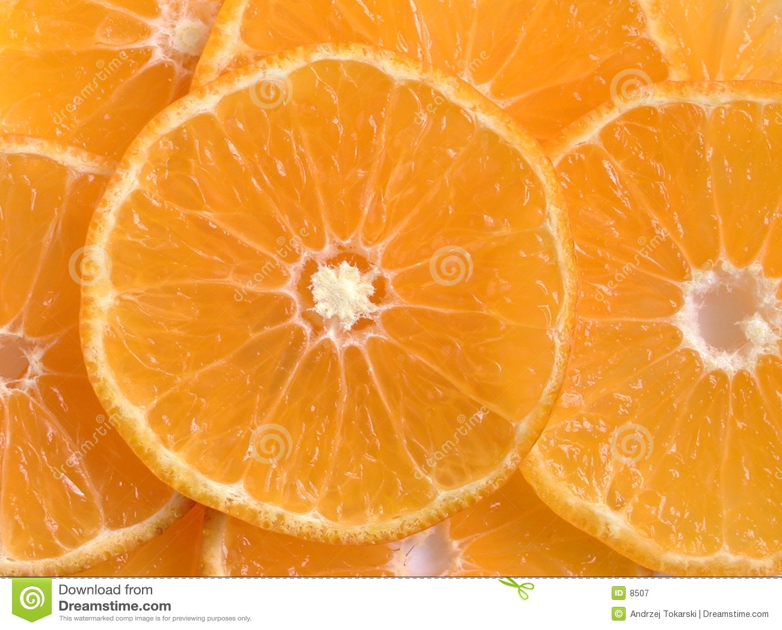 Parts oranges