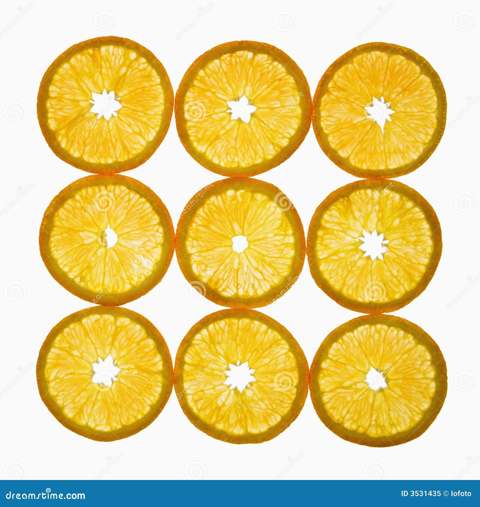 Parts oranges.