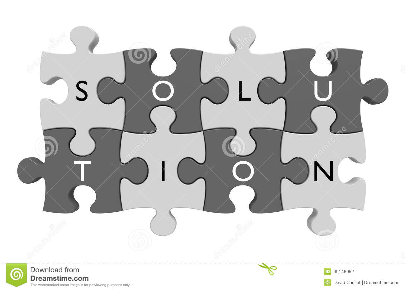 Parts Of A Puzzle Connected Together With Letters Spelling Out The