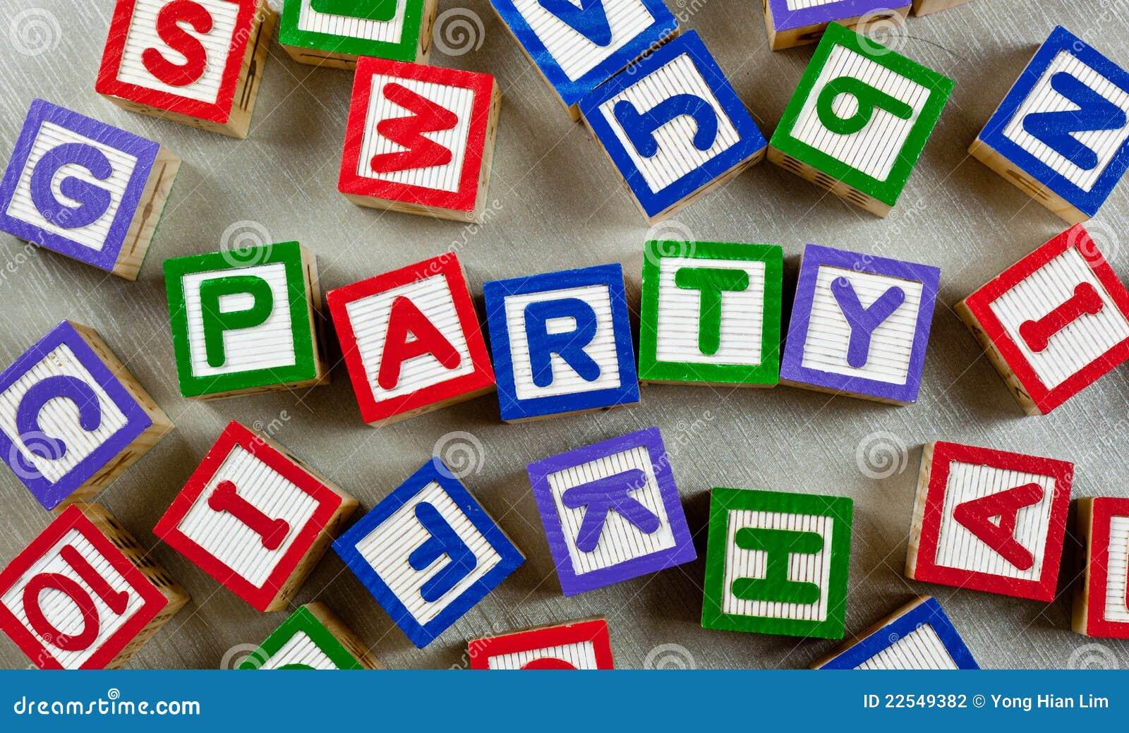 Partei Englisch
