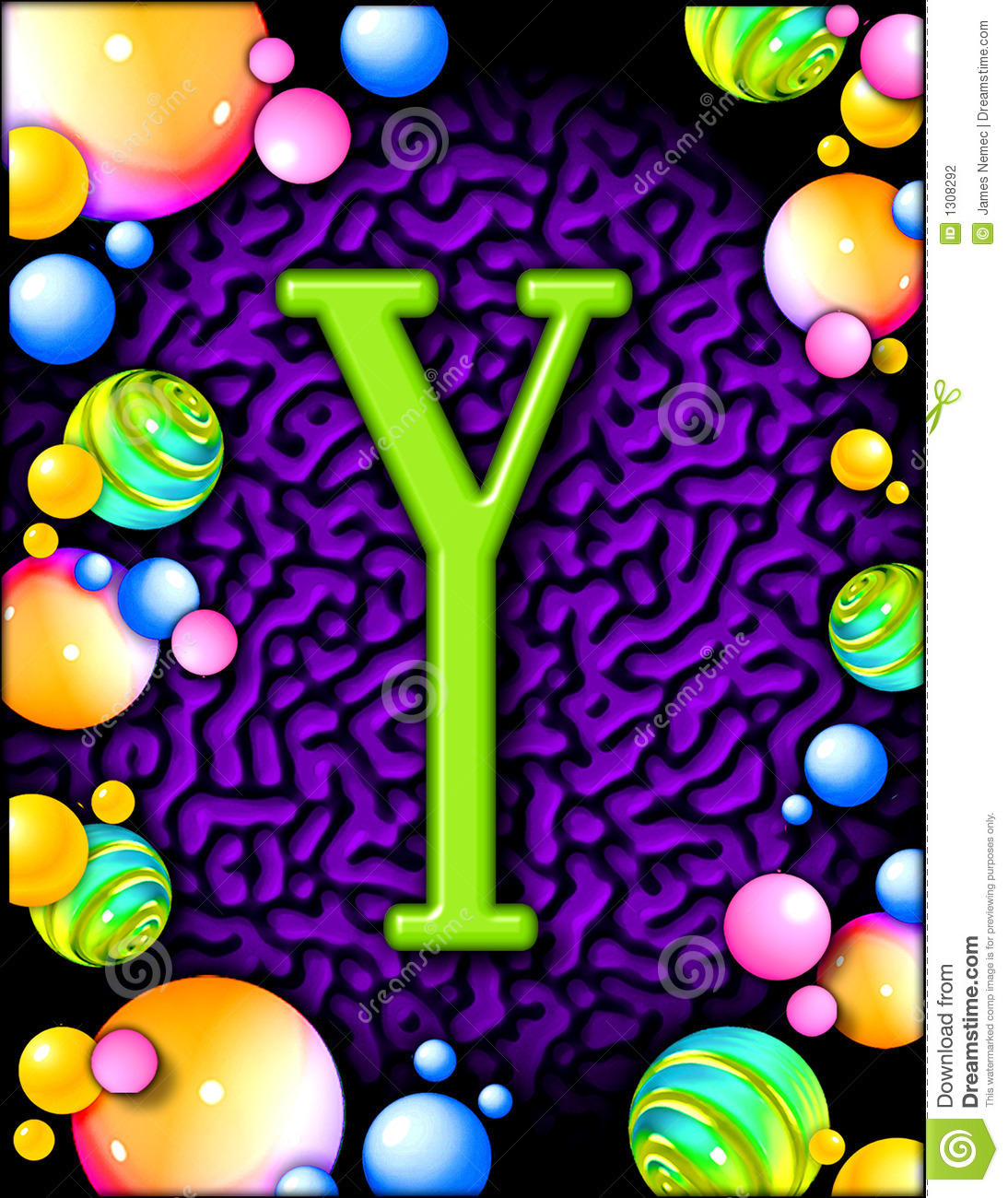 Party alphabet y stock illustration illustration of purple 1308292 party alphabet y thecheapjerseys Image collections