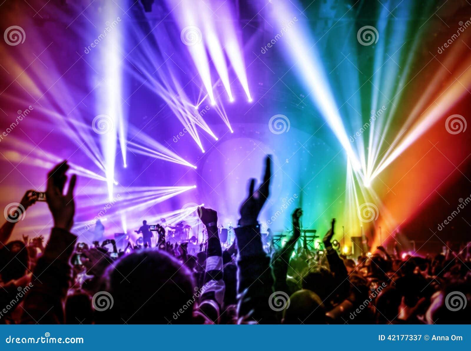 Pics photos rock concert background - Colorful Concert