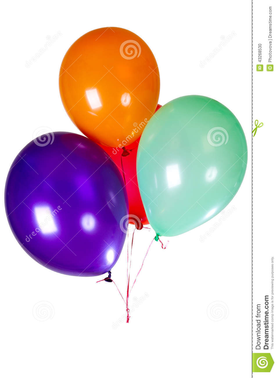 Party balloon decoration stock photo image 43268530 for Balloon decoration business