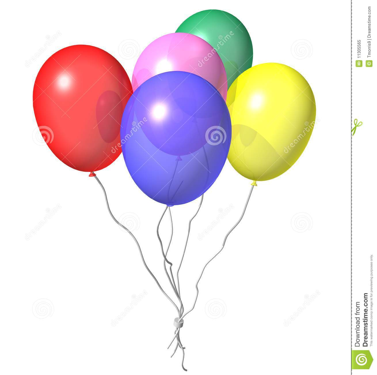 Party Balloons Royalty Free Stock Photo - Image: 11305565
