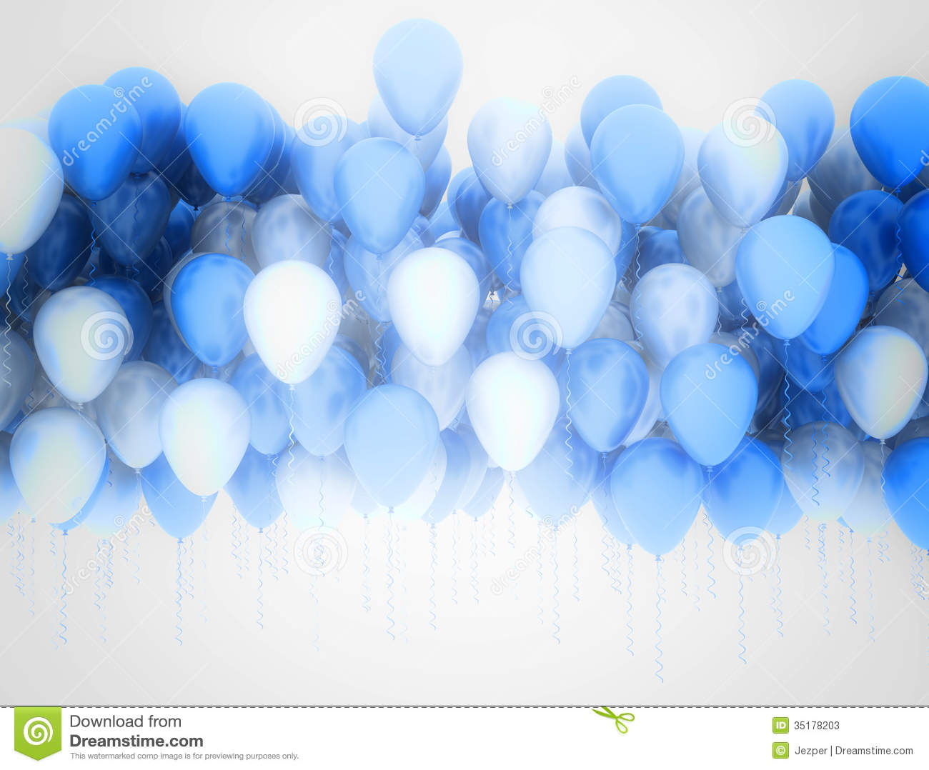 Party Balloons Background Stock Photos Image 35178203