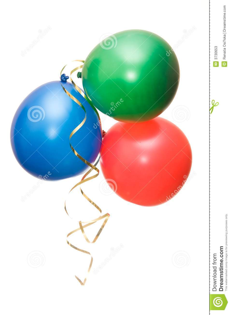 Party Baloons Stock Photos - Image: 3730653