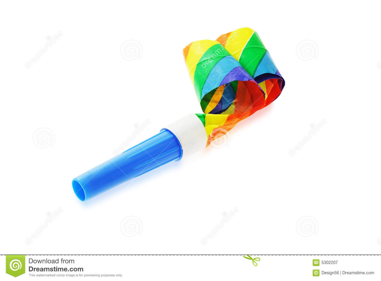 Party Blower: Party Blower Stock Image. Image Of Party, Paper