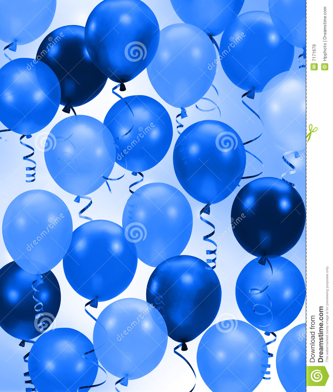 Celebration or birthday Party blue balloons background Birthday Celebration Background Hd