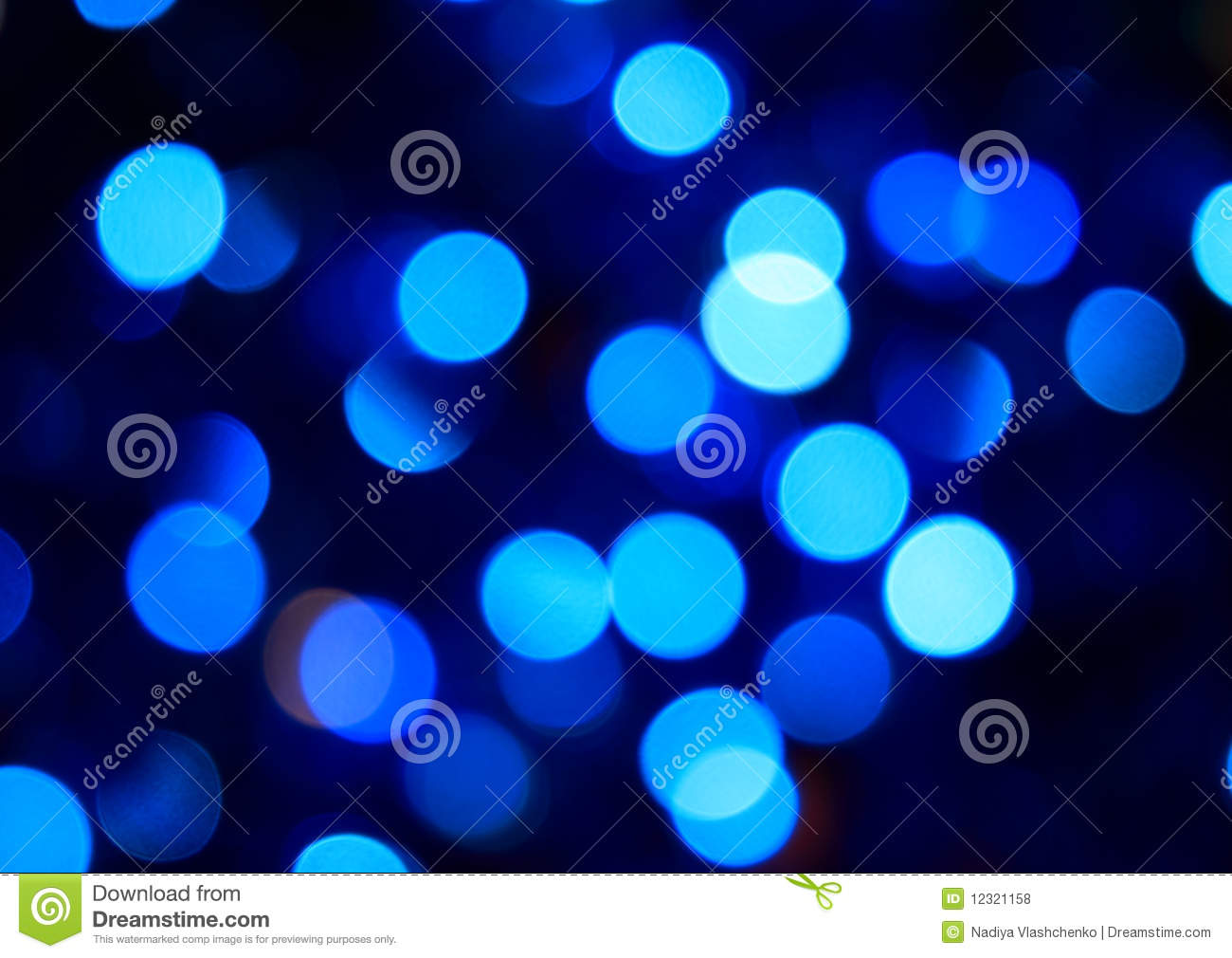 Party blue lights
