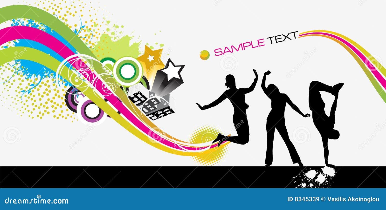 Prty Brochure | Party Brochure Stock Vector Illustration Of Celebration 8345339