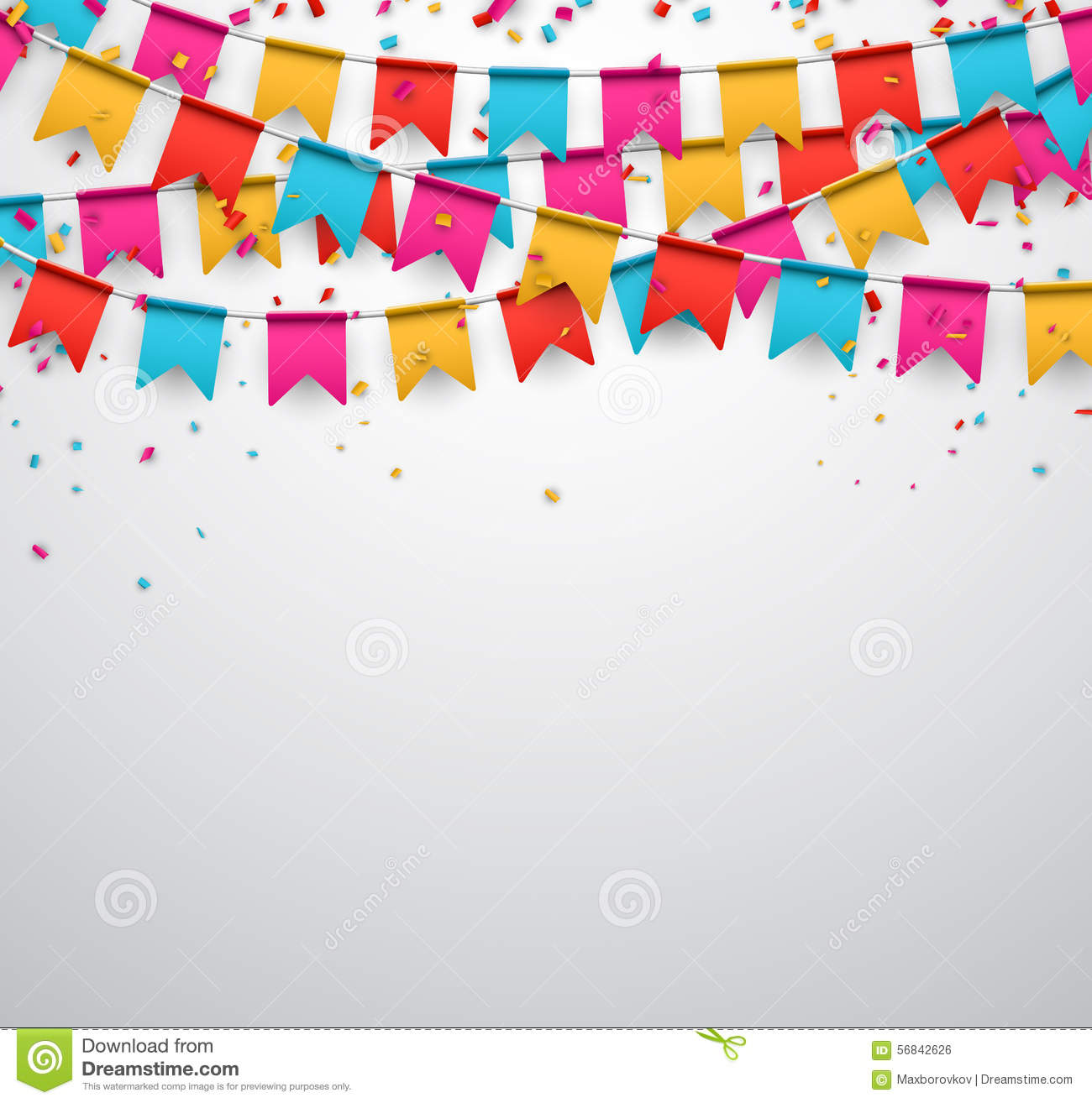 Party Celebration Background Stock Vector