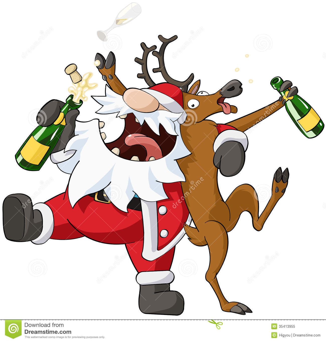 party christmas cartoon - Christmas Cartoon Pictures
