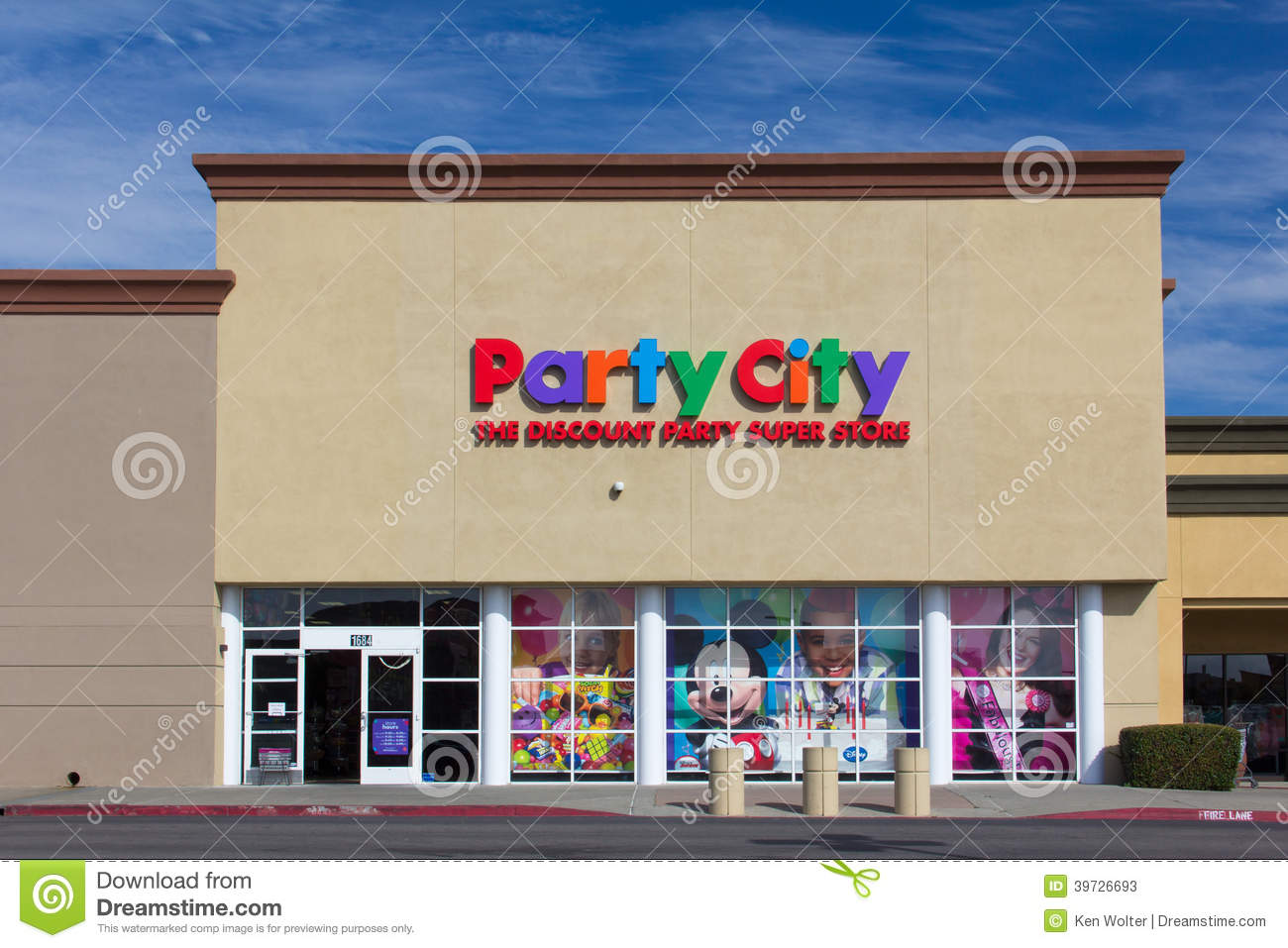 Store exterior party city is an american retail chain of party supply