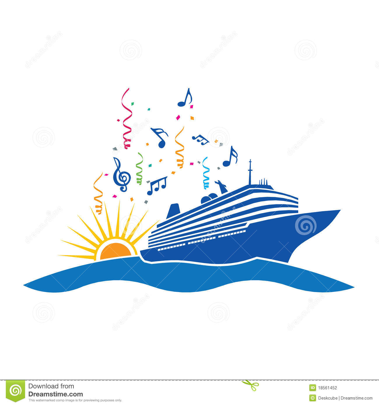 Cruise Ship Logo Stock Vector Illustration Of Holiday - Cruise ship logos