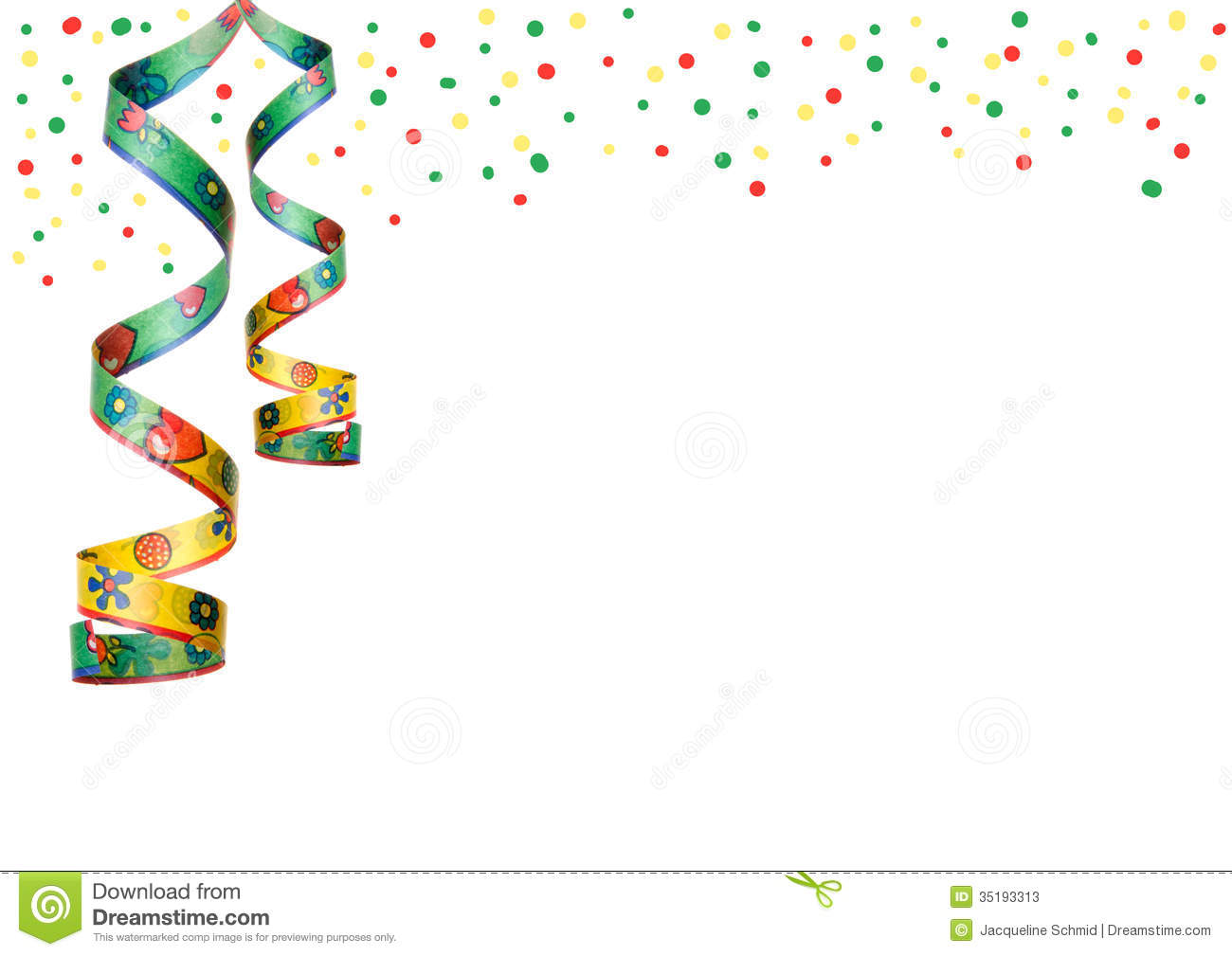 Party decoration hanging stock image image of celebrate for Background decoration images