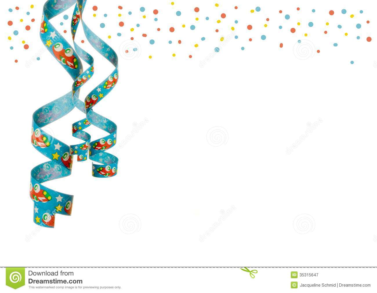 Party decoration stock image. Image of green, blue, fifth ...