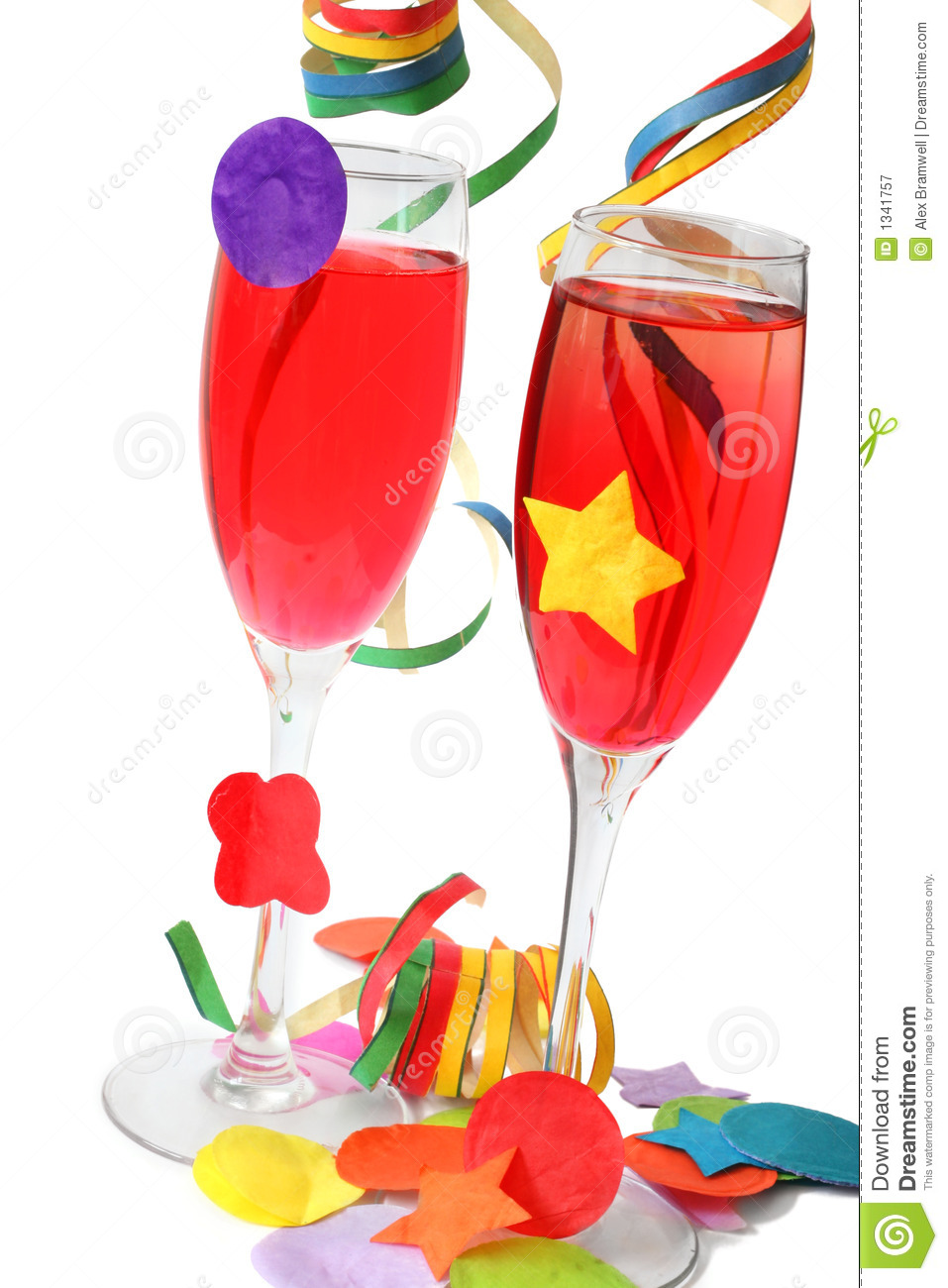 Party Drinks stock image. Image of alcohol, sparkling - 1341757