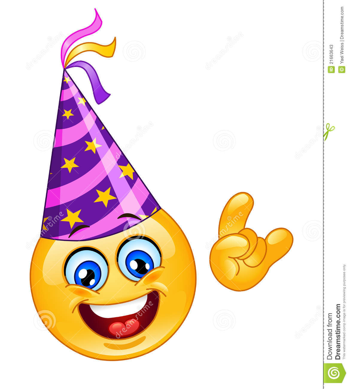Birthday Emoticon Facebook Image Source Party Stock Photos