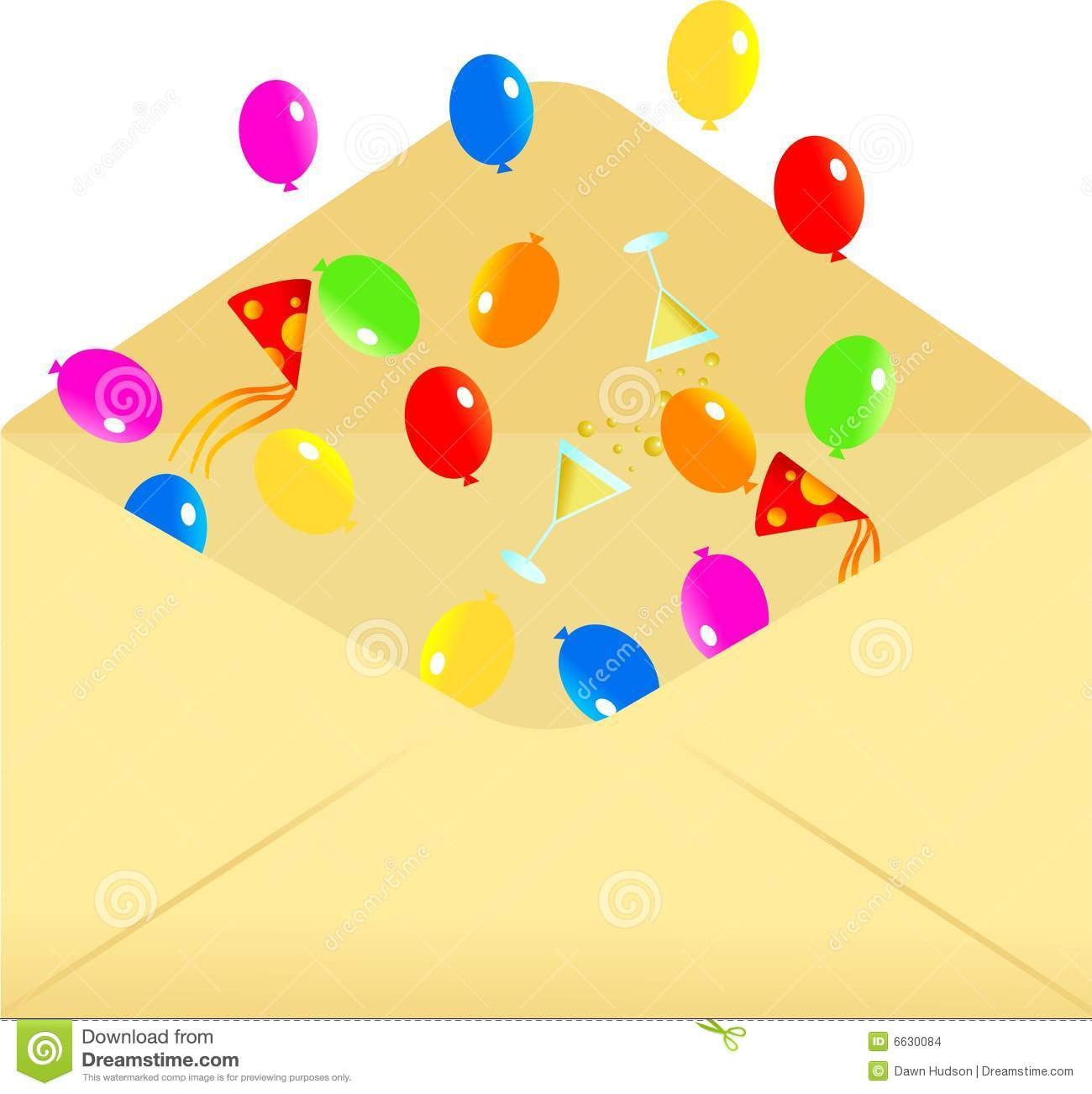 party envelope