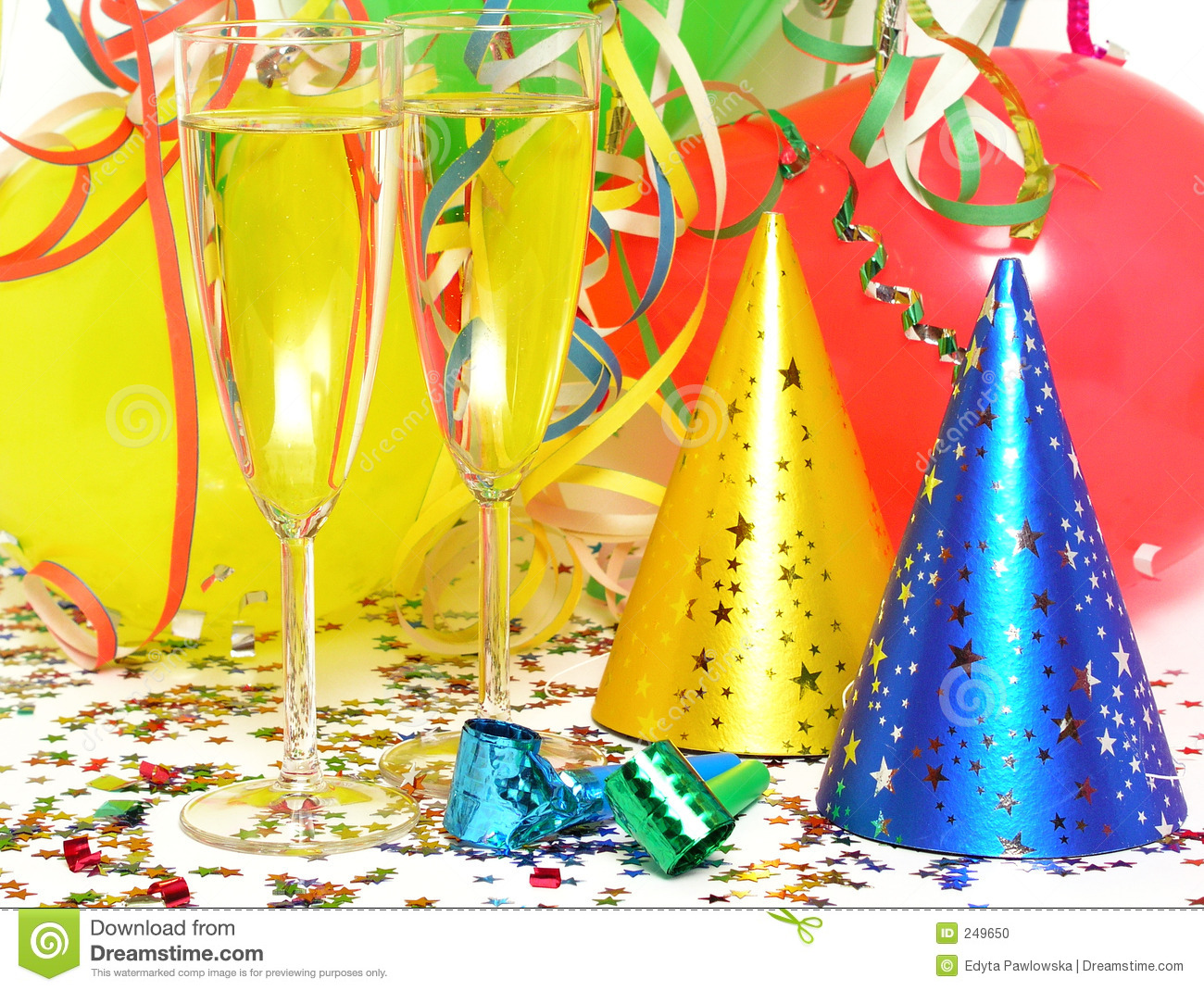 Party Favors Stock Photo - Image: 249650