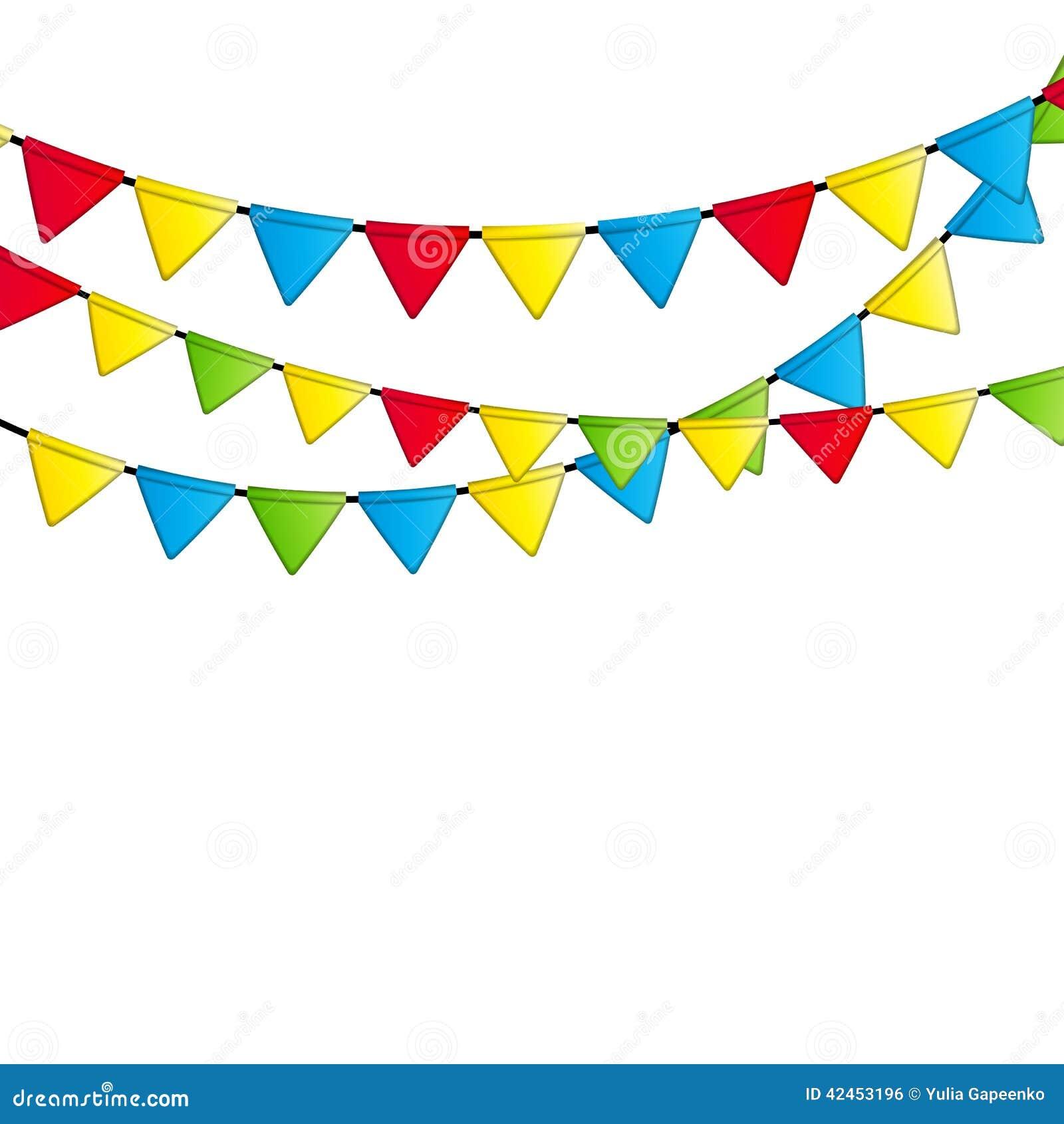 party flag background vector illustration eps 10 stock summer fun clipart border summer fun clipart border