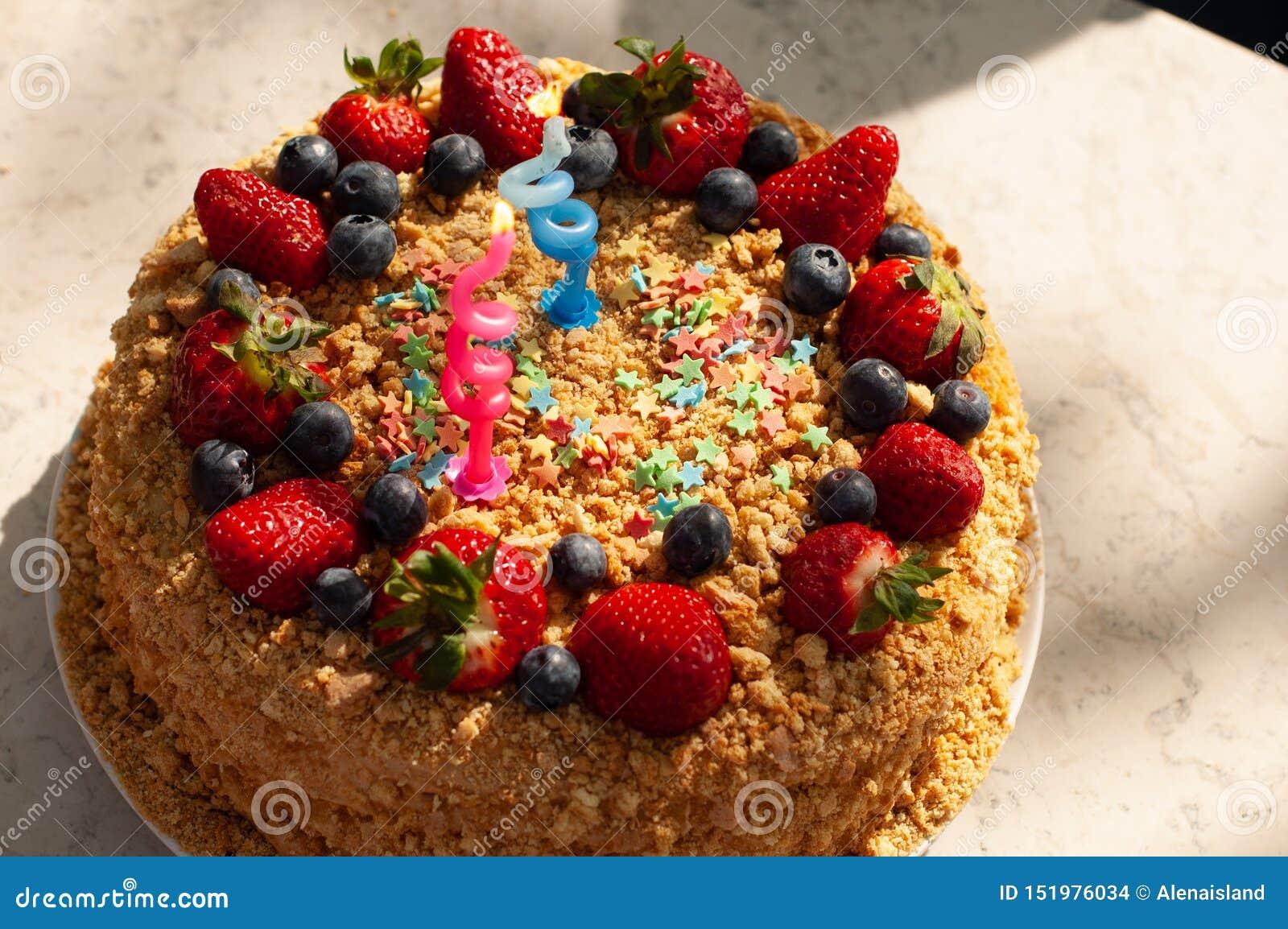 2 Year Old Birthday Cake Homemade