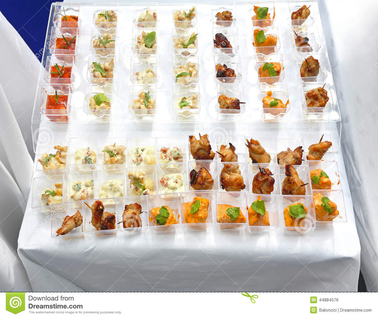 Party food stock photo image 44884576 for Canape party menu