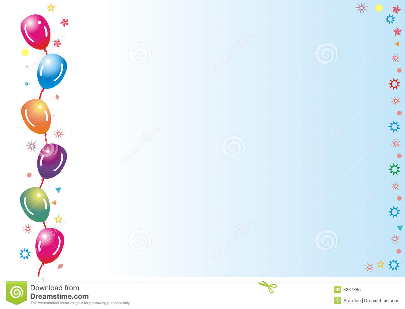 Party Frame Royalty Free Stock Photo - Image: 8287885