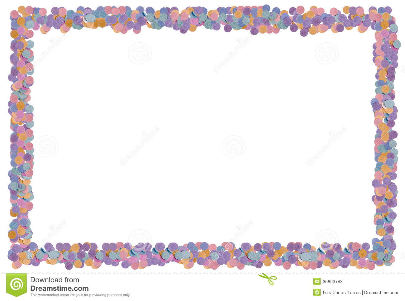 Party frame stock photo. Image of background, favours - 35693788