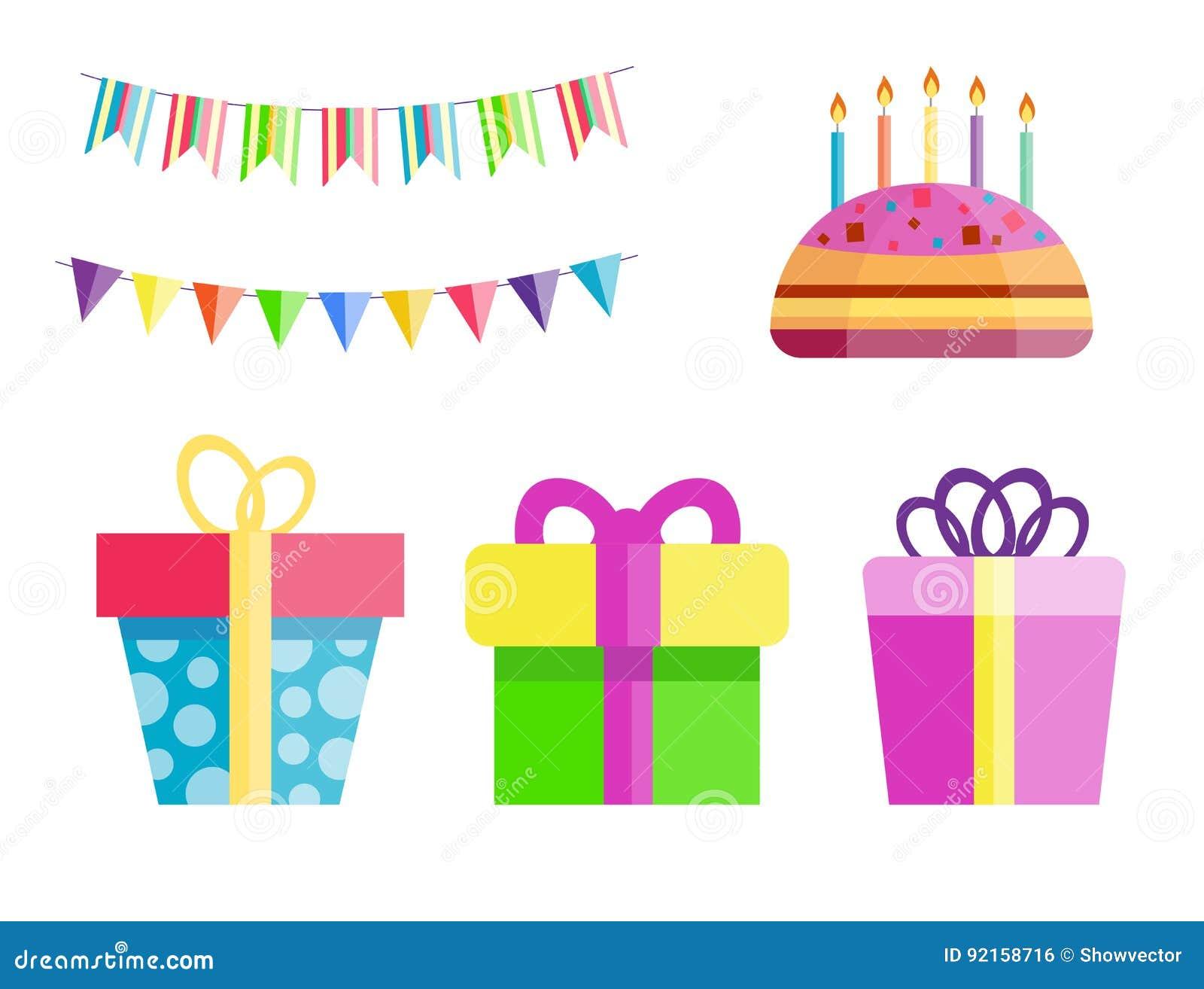 Party Gift Box Celebration Happy Birthday Surprise Decoration Event