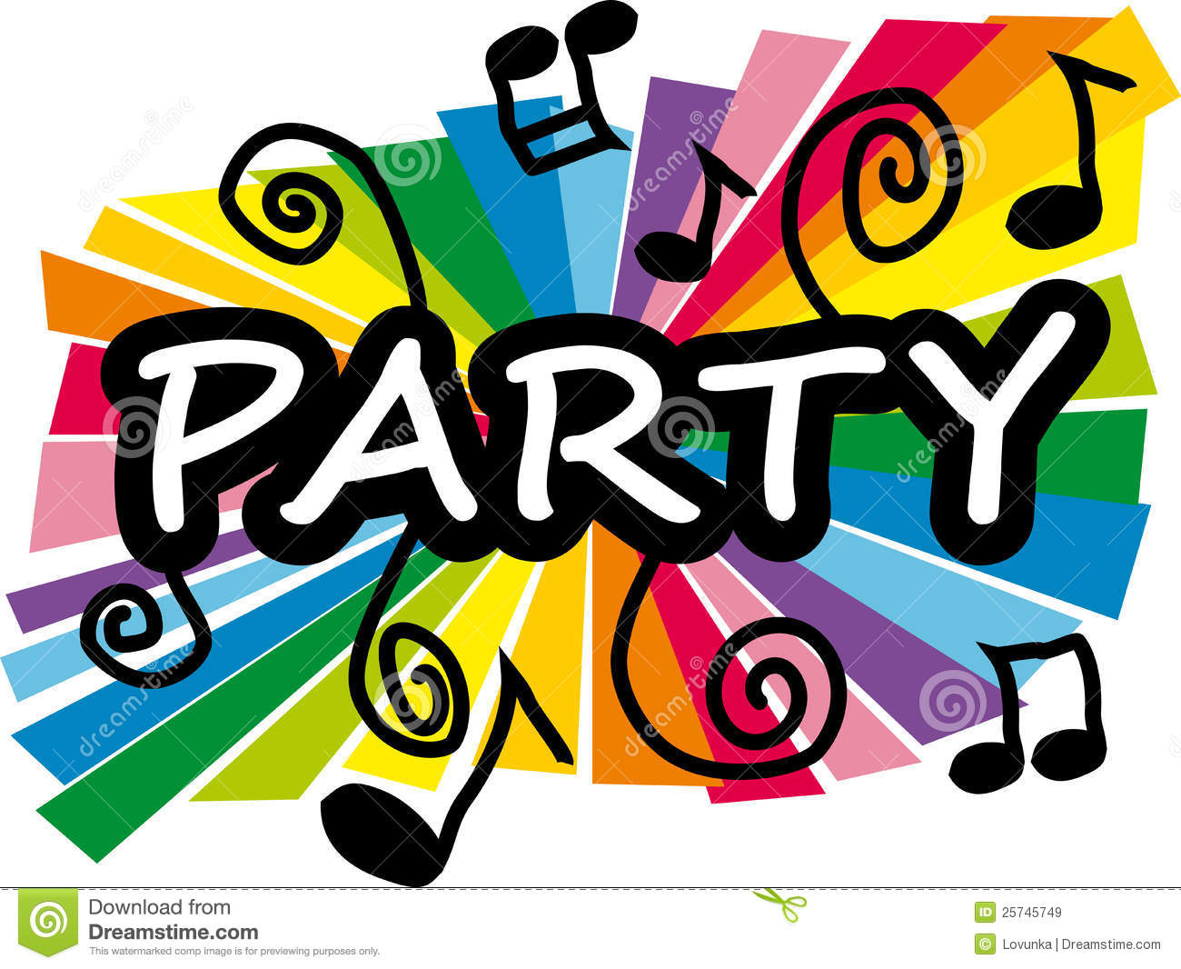 Party Illustration Royalty Free Stock Images - Image: 25745749