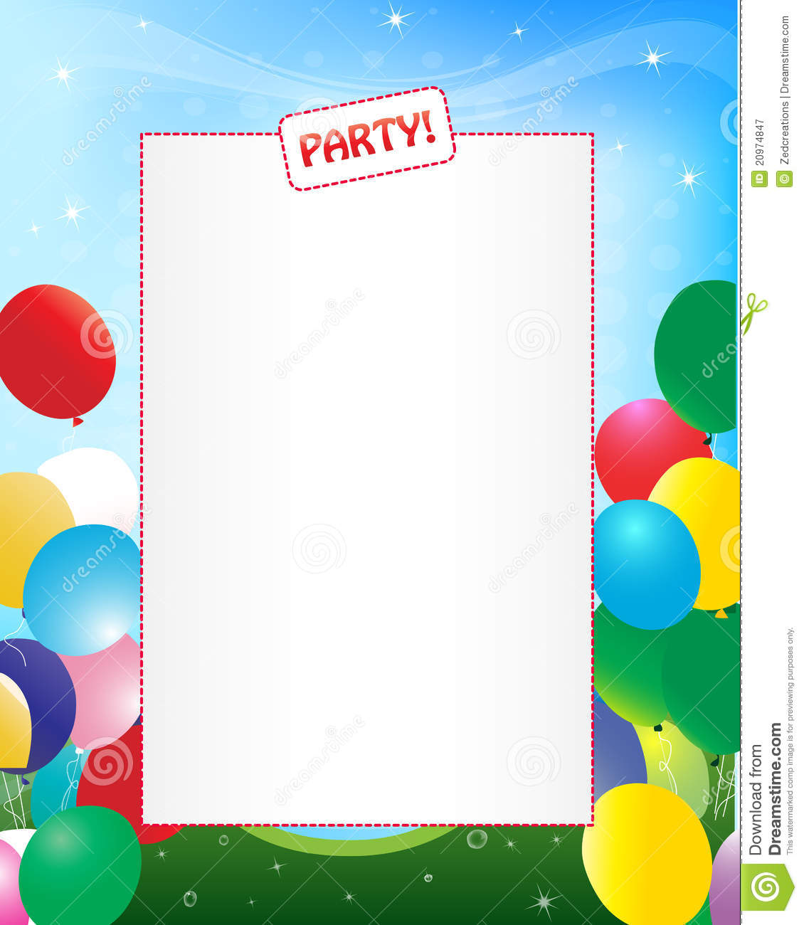 Party invitation background stock vector illustration of party invitation background filmwisefo