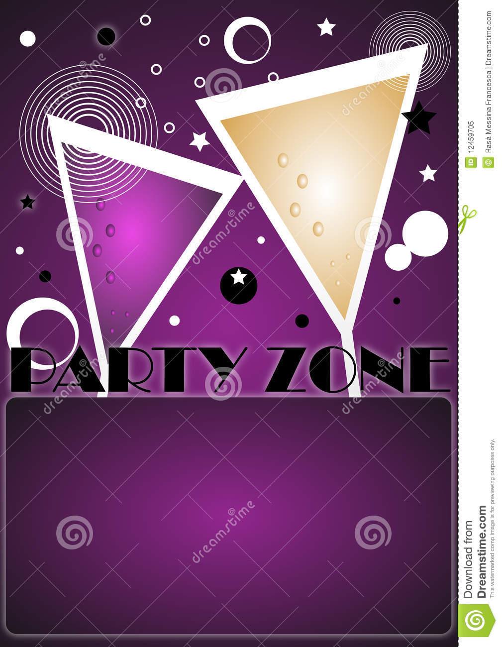 Party Invitation Background - Vector Royalty Free Stock Photo ...