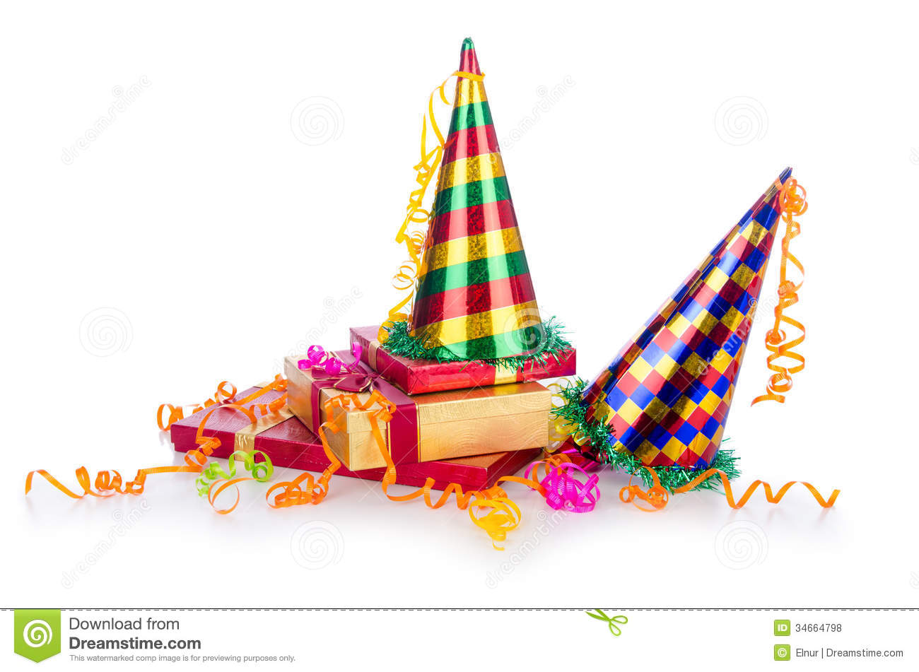 Party Items Royalty Free Stock Photos - Image: 34664798
