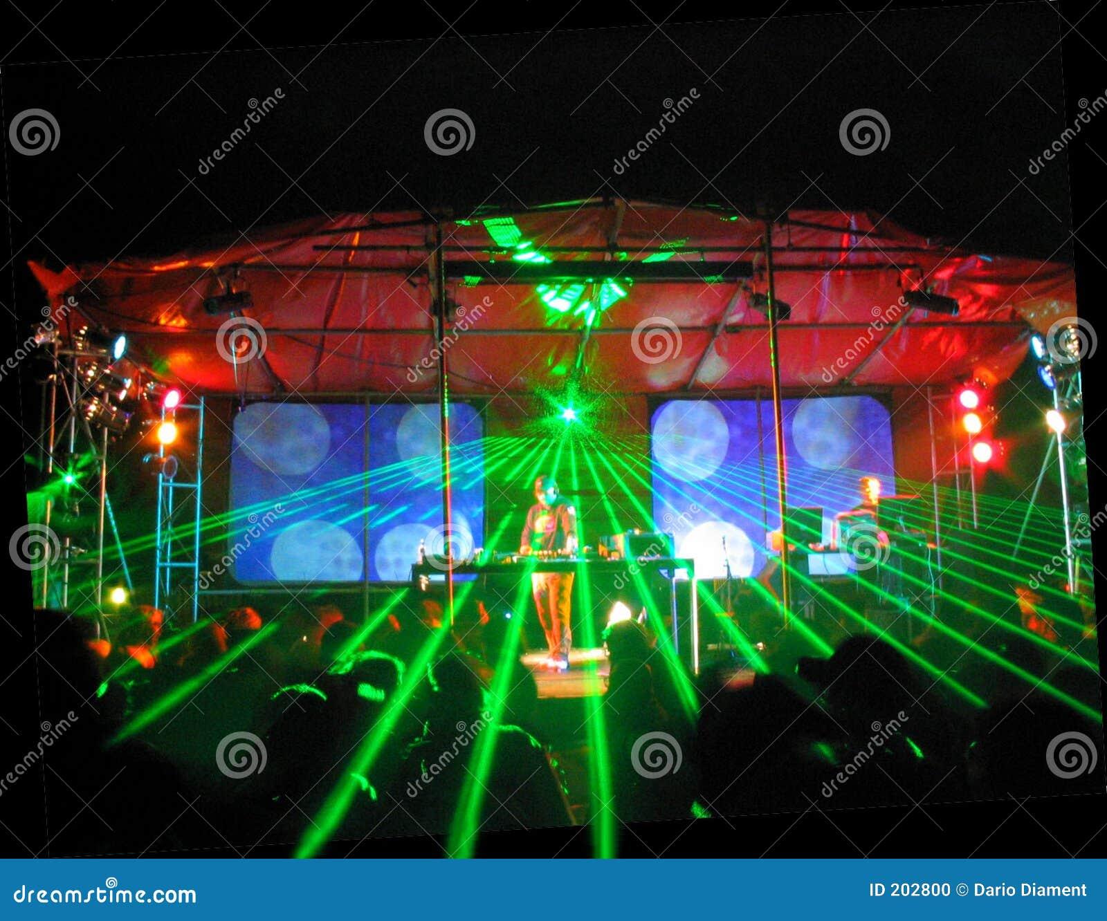 party laser beleuchtung stockfoto bild 202800. Black Bedroom Furniture Sets. Home Design Ideas
