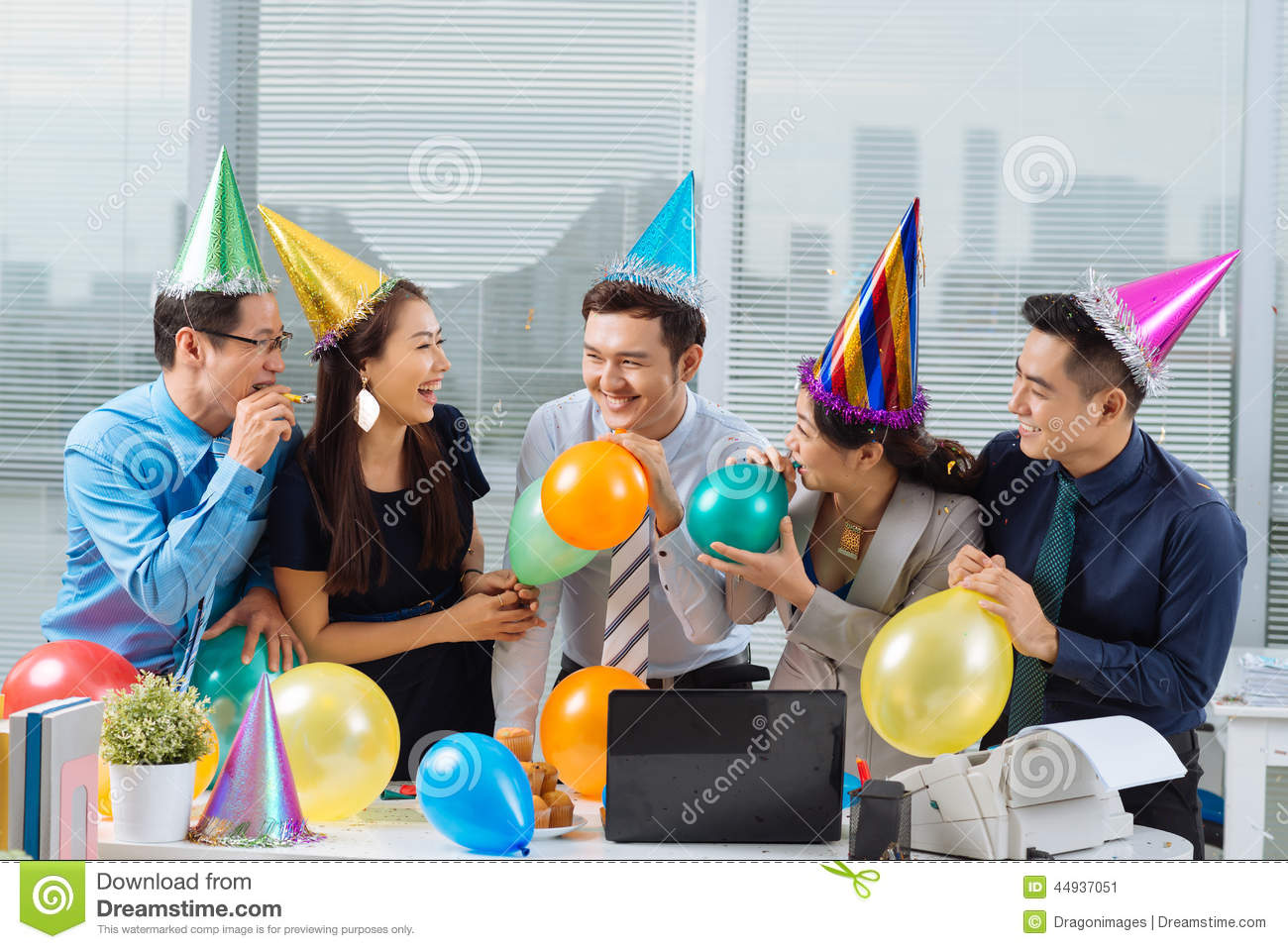 Business Office Party