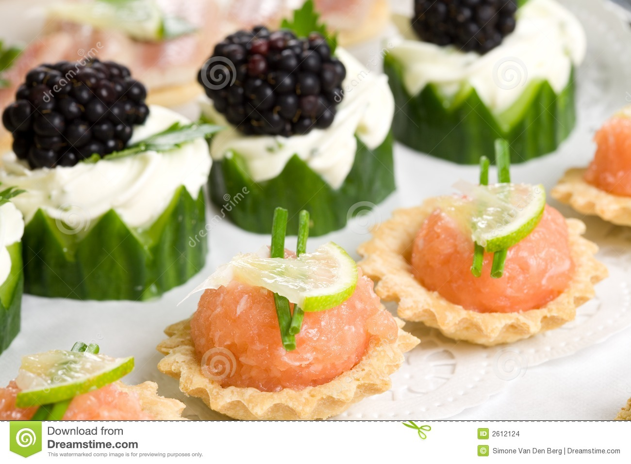 Party snacks