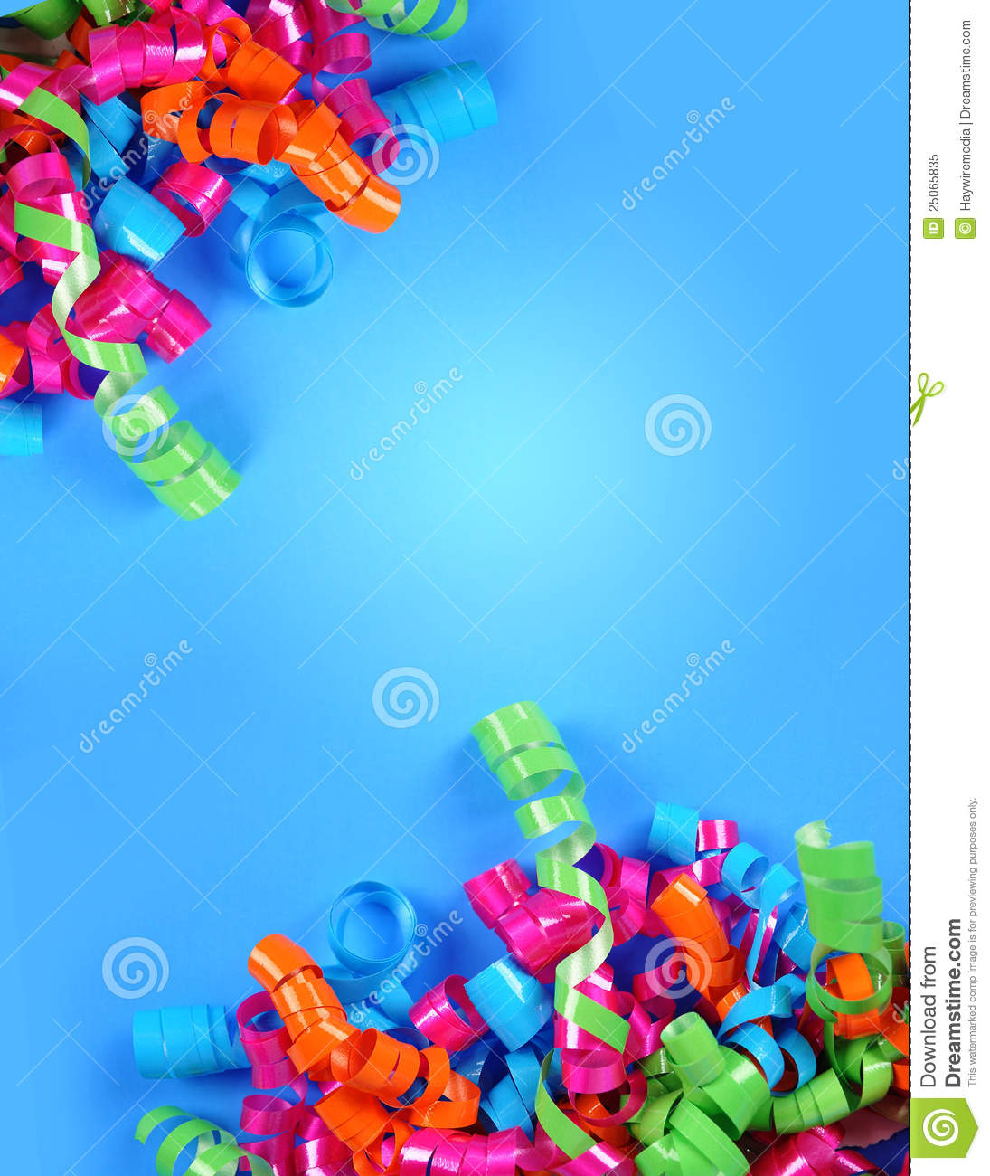 Party Streamer Celebration Background Royalty Free Stock Photo - Image ...