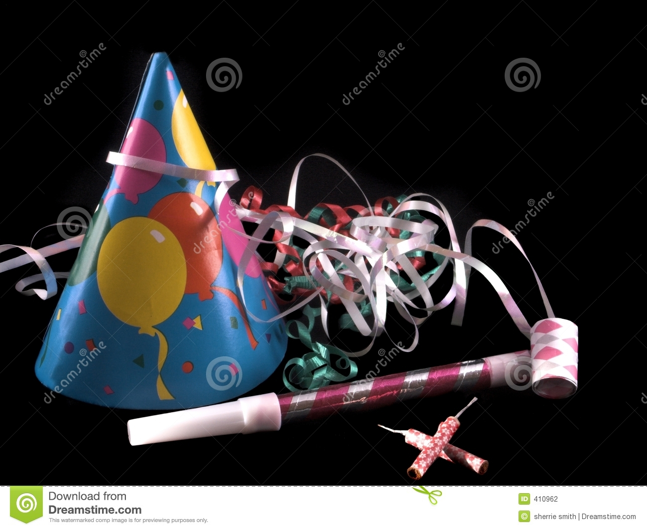 Party Stuff Stock Photography - Image: 410962