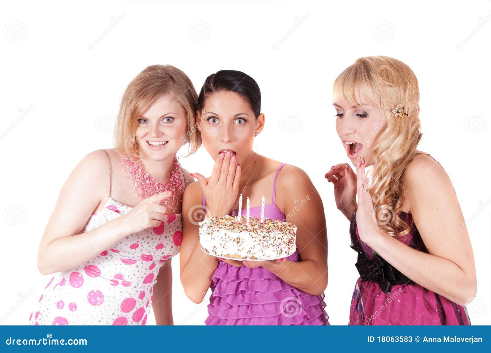 Dreier Auf Einer Party
