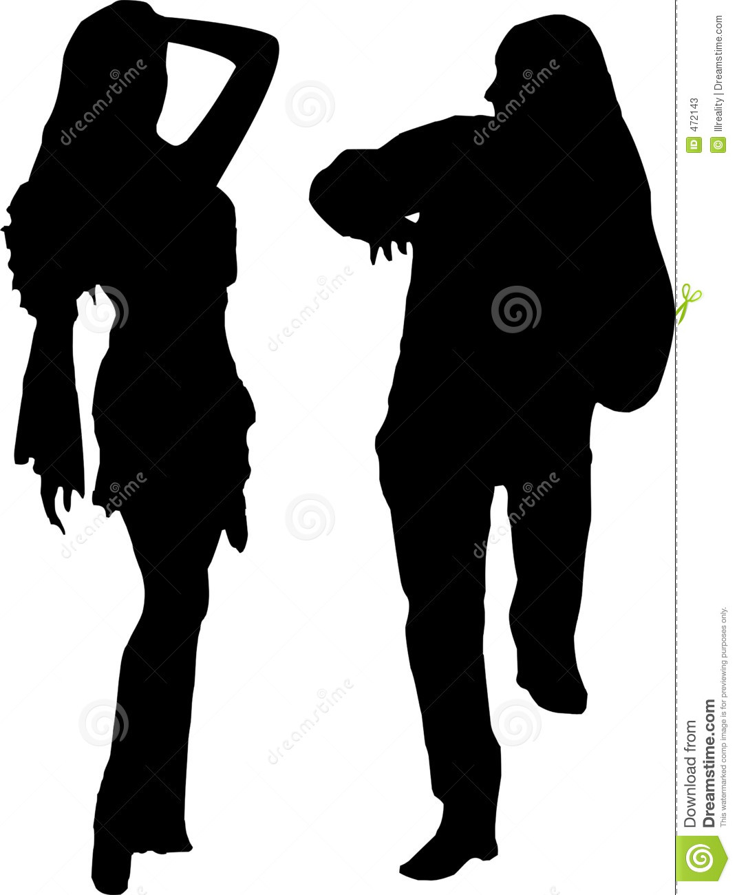 Download Party time stock illustration. Illustration of couple, ethnic - 472143