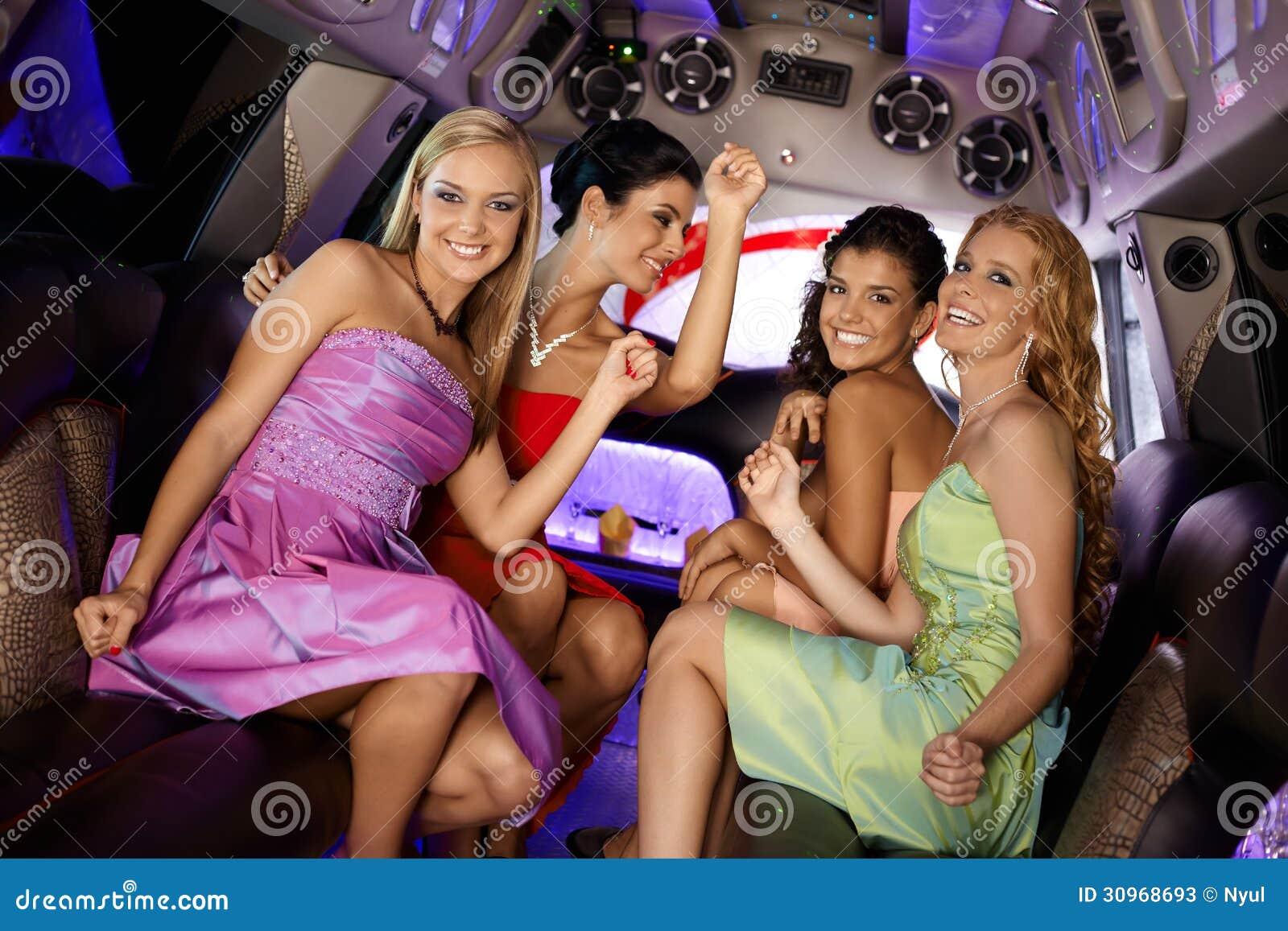 девушки лимузины трахаюца
