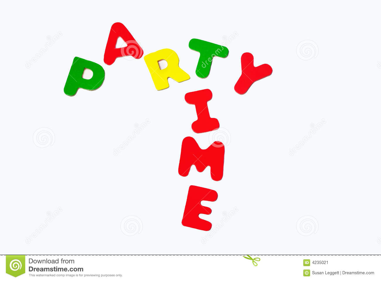 Party time sign