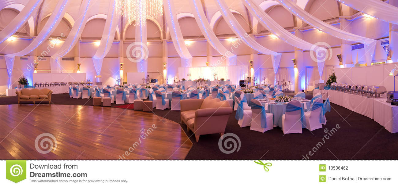 Indoor Wedding Venue Royalty Free Stock Photo: Party Venue Stock Photo. Image Of Lights, Matrimonial