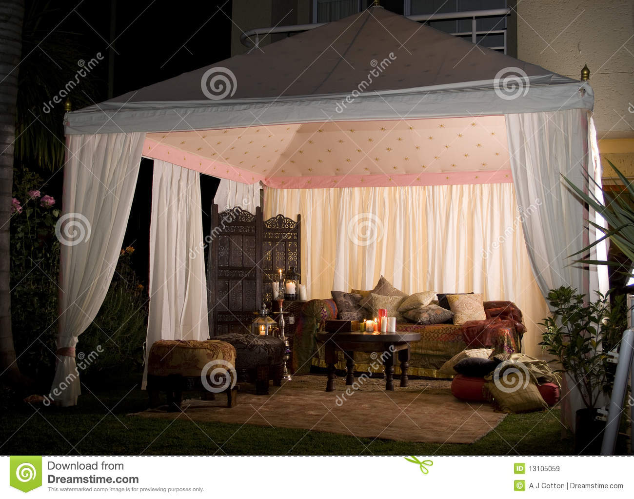 Party or wedding tent at night royalty free stock images   image ...